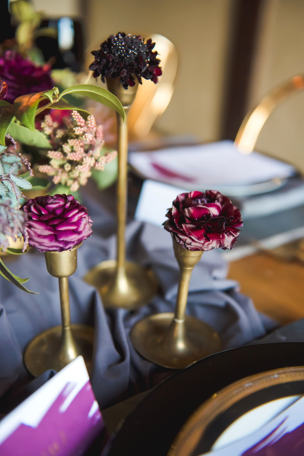 Florals by  Passionflower,  Photo by  E Schmidt Photography