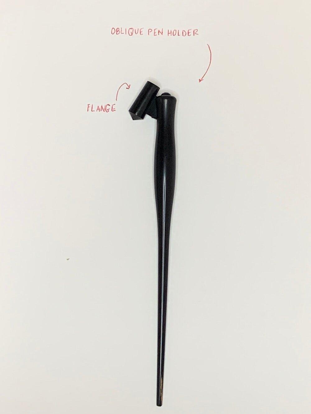 Oblique Pen Holder - parts