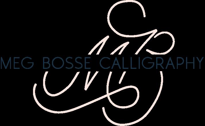 Meg Bosse Calligraphy